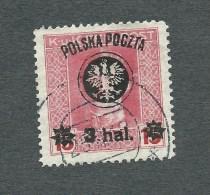 1919. AUSTRIAN  OCCUPATION  3 Hal. *  Optd. POLSKA  POCZTA  . USED. - Used Stamps