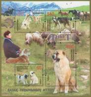 Kz 925-928 Bl.76 Tobet Dogs M Cheap 2016 - Granjas