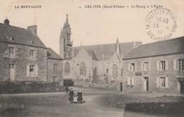 35 - LES IFFS  - La Bretagne - Le Bourg Et L´Eglise - France