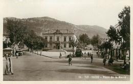Algérie - Tizi Ouzou - Place De La Mairie - Bon état - Tizi Ouzou