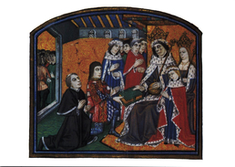 Court Of Edward IV Including His Son Edward V And Richard III Unused Card - History