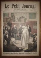 Le Petit Journal 24/01/1897 Docteur Grenier Député De Pontarlier - Accident De Tramway à Sèvres - Anglais Au Bénin - Journaux - Quotidiens