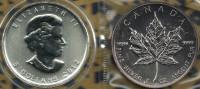 CANADA $5 QEII HEAD FRONT MAPLE LEAF BACK AG SILVER 1Oz 2012 UNC READ DESCRIPTION CAREFULLY !!! - Canada