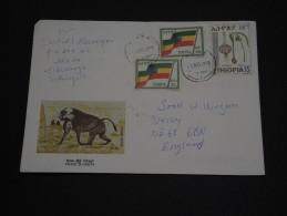 ETHIOPIE – Env Bien Composée - Détaillons Collection - A Bien étudier – Lot N° 18151 - Ethiopie