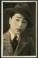 1920s (?) Japan / China Actor RP Postcard - Actors