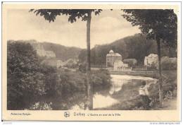 DURBUY ..-- Ourthe En Aval .  Un Peu Abimée !! - Durbuy