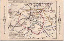 Paris Plan Du Métro - Trasporto Pubblico Stradale