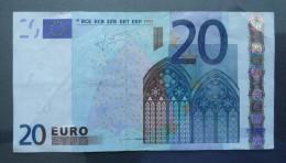 Banknoten, EURO, 2002, 20 Euro, S26014451704, (J023A2) - EURO