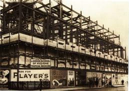 Construction Of The Keppel Street Building London School Of Hygiene & Tropical Medicine 1927 Modern Unused Card - Health