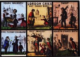 London Hawkers Cries Modern Unused Card - Markets