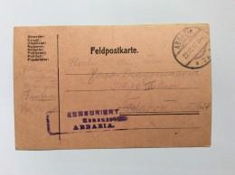 CROATIA  ABBAZIA  OPATIJA   CENSURE  1917 - Kroatien