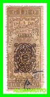 ESPAÑA -  CUBA ESPAÑOLA   ( EUROPA )   GIRO 10 Ctvs. DE PESO - Kuba (1874-1898)