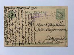 HUNGARY   CROATIA   FIUME   CENSURE Nr. 11       1916.