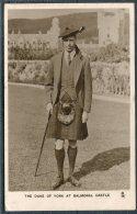 The Duke Of York At Balmoral Castle / Tuck Royal Portrait Series 3716 Prestwick, Manchester - Douglas IOM - Royal Families