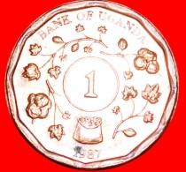 § GREAT BRITAIN: UGANDA ★ 1 SHILLING 1987 MINT LUSTER! LOW START  ★ NO RESERVE! - Ouganda