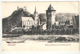 OBERWESEL - Ruine Schönburg Und Liebfrauenkirche - Oberwesel