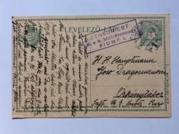 HUNGARY   CROATIA   FIUME   CENSURE Nr. 1     1916.