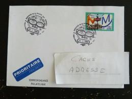 BUREAU POSTAL MILITAIRE 701 - MILITARIA - CACHET ROND MANUEL COMMEMORATIF SUR YT 3292 METRO - Marcophilie (Lettres)