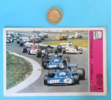 CAR RACING - FORMULA 1  ( Yugoslavian Vintage Card Svijet Sporta ) ** LARGE SIZE ** F1 F-1 Auto Automobile - Car Racing - F1