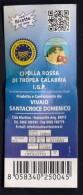# CIPOLLA ROSSA DI TROPEA Italy Tag Balise Etiqueta Anhänger Cartellino Oignon Zwiebel Onion Legume Gemuse Vegetables - Fruits & Vegetables