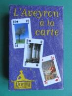 Cartes à Jouer - Jeu De 54 Cartes à Jouer - L´Aveyron à La Carte - Carte Joker - Cartes à Jouer Classiques