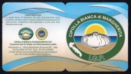 # CIPOLLA BIANCA DI MARGHERITA Italy Onion Tag Balise Etiqueta Anhänger Cartellino  Gemüse Legumes Oignon Verduras - Fruits & Vegetables