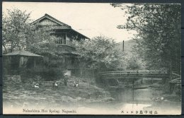 Japan Nagasaki Nakashima Hot Springs Postcard - Japan