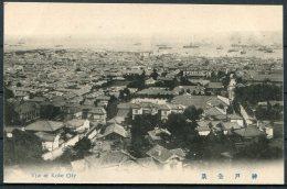 Japan Kobe View Of City Postcard - Kobe