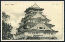 Japan Great Osaka Castle Postcard - Osaka