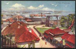 Japan Yokohama Harbour Raphael Tuck Art Postcard - Yokohama