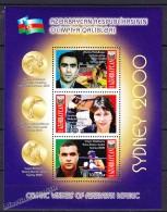 Azerbaijan - Azerbaidjan 2000, Yvert BF 50, Sydney Olympic Games - Miniature Sheet - MNH - Azerbaïjan