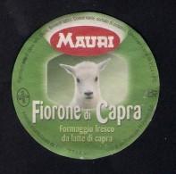 # FORMAGGIO FIORONE DI CAPRA MAURI Italy Tag Balise Etiqueta Anhänger Cartellino Fromage Cheese Käse - Fruits & Vegetables