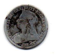 ONE SHILLING Argent  VICTORIA 1894 - 1816-1901 : Frappes XIX° S.