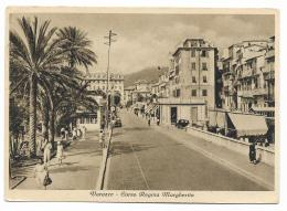 VARAZZE CORSO REGINA MARGHERITA 1921  VIAGG.  FG - Savona