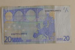 20 EURO E SLOVAKIA DRAGHI SERIE R026E2 Circulated - EURO