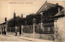 CPA Amifontaine - Avant La Guerre - Mairie Et Poste (280141) - France