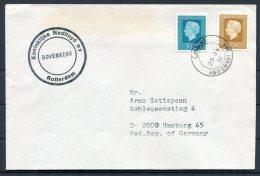 1976 Netherlands Ship Paquebot Cover Nedlloyd BOVENKERK Abu Dhabi - Covers & Documents