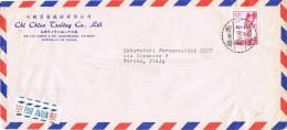 18756. Carta Aerea KAOHSIUNG (taiwan) China 1968 To Torino. Italy - 1949 - ... People's Republic