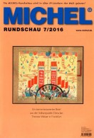 MICHEL Briefmarken Rundschau 7/2016 Neu 6€ New Stamps Of The World Catalogue/ Magacine Of Germany ISBN 978-3-95402-600-5 - Mitteilung