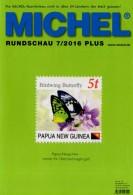 MICHEL Briefmarken Rundschau 7/2016-plus Neu 6€ New Stamps Of World Catalogue/magacine Of Germany ISBN 978-3-95402-600-5 - Mitteilung