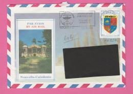 NOUVELLE CALEDONIE - TIMBRE POSTE P. A. N° 257  SUR LETTRE PAR AVION - Luftpost
