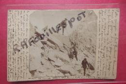 C Photo Rare Ascension Du ? Ecrite Par 1 Des Alpinistes - Escalade