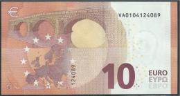 10  EURO DRAGHI  SPAGNA  VA  V001 I4   UNC - EURO