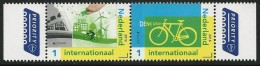 """NETHERLANDS /HOLANDA/ NEDERLAND -EUROPA 2016 -TEMA """" ECOLOGIA - EL PENSAMIENTO VERDE - THINK GREEN"""".- SET Of 2 Stamps - Europa-CEPT"""