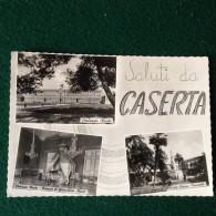Cartolina Saluti Da Caserta,palazzo Reale,piazza Vanvitelli Viaggiata 1969 - Caserta