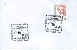 11552 Italia, Special Postmark 2010 Vignola    Surrealism Of Salvador Dali - Arts