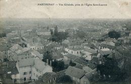 N°50264 -cpa Parthenay -vue Générale- - Parthenay