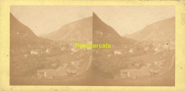 ANCIENNE PHOTO STEREOSCOPIQUE STEREO PHOTO FOTO STEREOVIEW LA GRAND VALEE & MONTAGNES DU TYROL TIROL - Stereo-Photographie