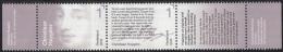 Nederland - Brieven Schrijven – Christiaan Huygens – Portret/tekstfragment - MNH - NVPH 3323-3324 - Schrijvers