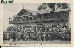 Etiopia Addis Abeba Festa Del Mascal In Piazza S.giorgio (vedi Affrancatura) - Ethiopie